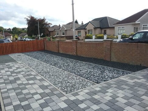 block paving work in glasgow